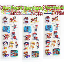 Kids Favours Gift PAW PATROL PUFFY Stickers Party Bag Fillers Party Birthday