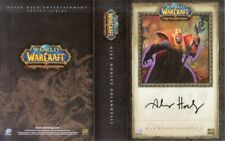 World of Warcraft promo Deck Cover Art comic con signed Alex Horley