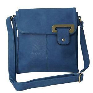 women's Multi pocket medium size cross body shoulder messenger bag
