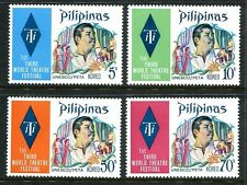 Philippines 1191-1194,MNH.Michel 1067-1070. Theater Festival.Actor Vic Silayan.