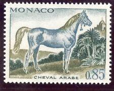 STAMP / TIMBRE DE MONACO N° 837 ** FAUNE / CHEVAL / CHEVAL ARABE