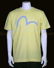 EVISU t-shirt XL geel NIEUW+LABELS np:€90