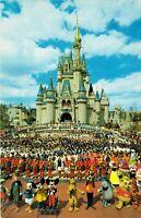 1960s Vintage Walt Disney World Cinderella Castle FL Florida Unused Postcard