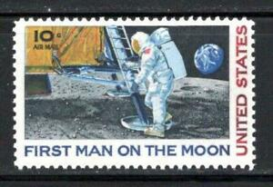 US APOLLO 11 FIRST MAN ON THE MOON Neil Armstrong 50th Anniversary Space Mint NH
