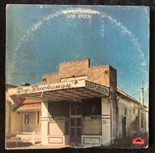 ROY BUCHANAN Live Stock Album LP 1975 Polydor PD 6048 1st Press - EX/EX+ Vinyl