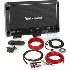 Rockford Fosgate R1200-1D 1200W RMS Prime Monoblock Class D Car Amplifier + Kit