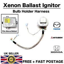 Honda S2000 Accord Mazda 3 Xenon Headlight Ballast Bulb Holder Ignitor Cable