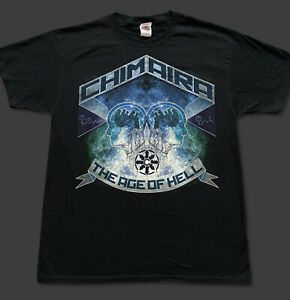 Chimaira The Age Of Hell T-shirt LARGE **RARE** Owned by Rob Arnold BRAND NEW!