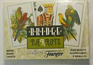 Parrots Bridge Double- Deck 6 Jokers Open package