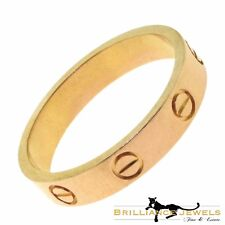 Cartier Rose Gold Love Wedding Band Ring, Size 74 (14.75) R-37