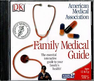 DK Family Medical Guide Pc New XP Easy To Use Diseases Disorders Preventive
