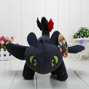 How To Train Your Dragon 3Light Fury Night Toothless Plush Soft Toy Doll Gift