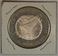 "Friendship 7 Silver Medal ""America's First Manned Orbital Flight"" In 2x2 Flip"