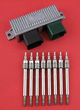 6.0L Powerstroke Diesel Glow Plug Kit - Module and Premium USA Made Glow Plugs