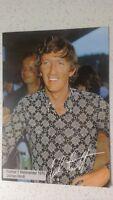 JOCHEN RINDT alte original Formel 1 Postkarte 70er mit aufgedrucktem Autogramm