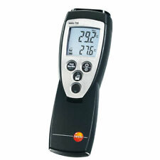 Testo 720 0560 7207 Precise 1 Channel Rtdntc Thermometer