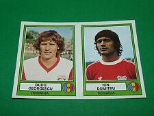 PANINI EURO FOOTBALL 78 N°222 GEORGESCU DUMITRU ROUMANIE ROMANIA 1977-1978