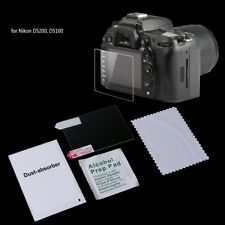 Tempered Glass Camera LCD Protector Screen Guard Cover Film For Nikon D5200 New