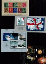 COMPLETE YEAR SET  2002  MINIATURE SHEETS  MS2289  MS2292  MS2315  MS2326   MNH