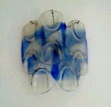POLIARTE VENINI SCONCES ORIGINAL 5 UNITS VENINI MURANO DESIGN  '60