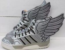 Adidas Jeremy Scott JS NASA Wings 2.0 Metallic Flag Silver, Size 9, RARE.