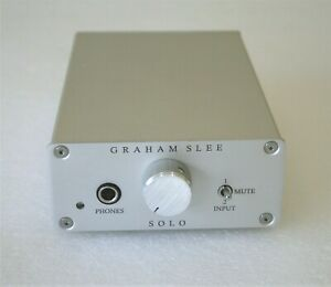 Graham Slee Solo SRGII Headphone Amplifier (With PSU 1 Power Supply) - RRP £560