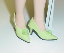 "Doll Shoes, Monique Gold 48mm LT GREEN ""My Fair Lady"" for Tyler, Sybarite"