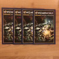 Wizard World Chicago 2019 Program SIGNED by Cover Artist Stuart Sayger