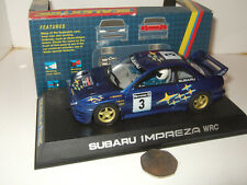 Scalextric C.2118 Subaru Impreza WRC Slot with Car lights, inc brake light etc