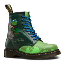 7498c271db9f Dr. Martens Leo L Green T Lamper Leather BOOTS Size UK 4