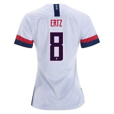 b0f86efd161 Julie Ertz  8 USA WOMENS White 2019 World Cup SOCCER JERSEY