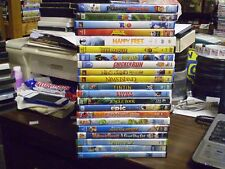 (21) Childrens Animal DVD Lot: Disney (2) Rio Happy Feet Kung Fu Panda (2) Shrek