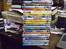 (21) Childrens Animal DVD Lot: Disney (2) Rio Happy Feet Kung Fu Panda (2) Shrek