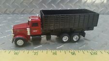 1/64 ERTL custom Peterbilt case ih red grain feed dump truck farm toy spec cast
