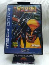 Jeu Wolverine Adamantium Rage pour Sega Megadrive En Boite / Boxed - Floto Games