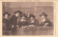 CPA PAYS-BAS NEDERLAND AMSTERDAM oude kunst Rijksmuseum Rembrandt van Rijn