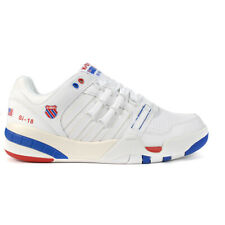 K-Swiss Men's SI-18 International Heritage White/Classic Blue/Ribbon Red Snea...