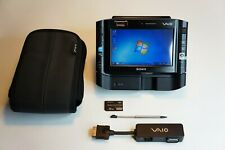 Sony VAIO VGN-UX1XRN Black + Dock Station + Case + Port Adapter (TOP)