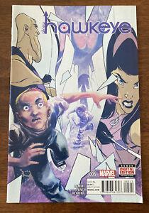 All New Hawkeye #4  Marvel comic Lemire Perez 2015 1st print NM