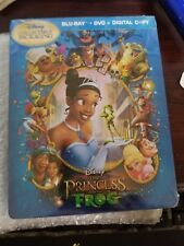 THE PRINCESS AND THE FROG IRONPAK (steelbook-like) [NEW/Blu-ray+DVD] Future Shop