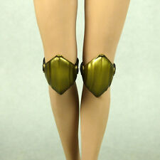 1/6 Scale Phicen, Hot Toys - Snow Soldier Female Golden Knee Guards w/ Side Clip