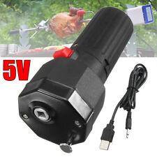 Electric Grill Rotisserie Motor BBQ Barbecue Roast Bracket Rotator Spit 5V USB