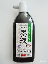 Daiso Japanese Calligraphy Shodo BOKUEKI SUMI DRAWING INK 180ml