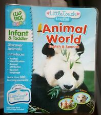 NEW Little Touch LeapPad, ANIMAL WORLD, ENGLISH AND SPANISH, OVER 120 ACTIVITIES