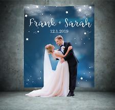 Personalized Wedding Backdrop Banner Custom Bridal Sign Reception Decoration 12