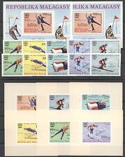 Olympiade 1976, Olympic Games, Sport - Madagaskar - A/B ** MNH