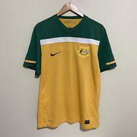 Australia Socceroos Nike 2010 Football Soccer Jersey Shirt Mens Large