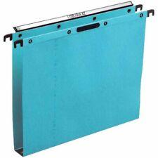 L'oblique AZ Bte de 25 dossiers suspendus Velcro tiroir fond 30mm - Réf 300002