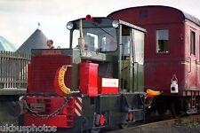 Hunslett LM384 ex Bord Na Mona preserved Tralee Eire Rail Photo