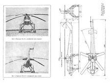 Mil Mi-10 Russian Skycrane historic manual archive rare detail crane lift 1960's